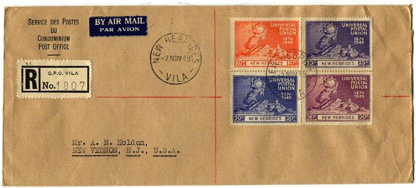 the new hebrides  postal history  u0026 stamps